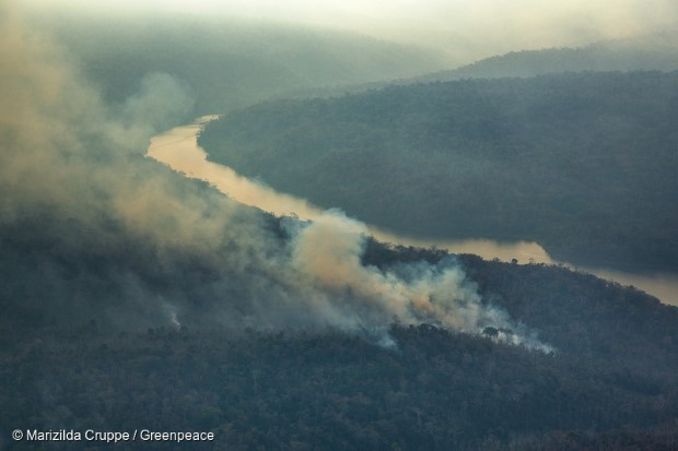 Brazilian Amazon forest fires