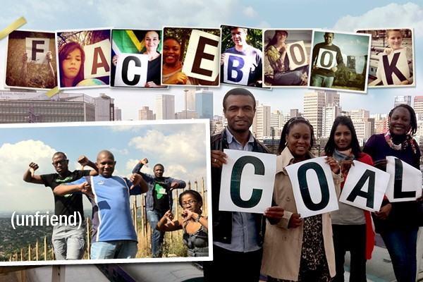 Greenpeace Africa volunteers
