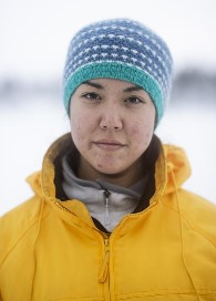 Kiera Kolsen. Indigenous youth ambassador from Denendeh, North West territories, Canada