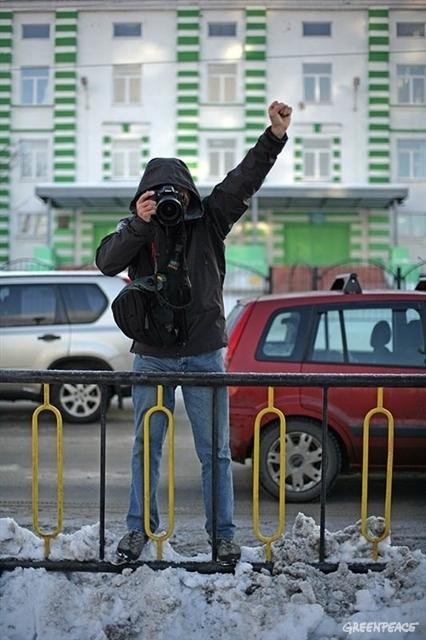 Dima Sharomov. © Igor Podgorny / Greenpeace