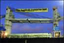 Greenpeace protests against GE soy shipment into Australia