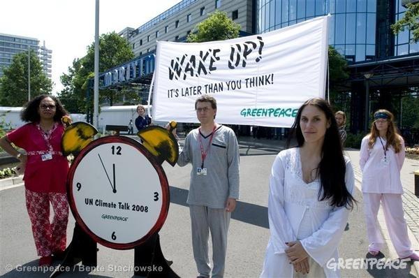 UN Climate Conference Demonstration in Bonn