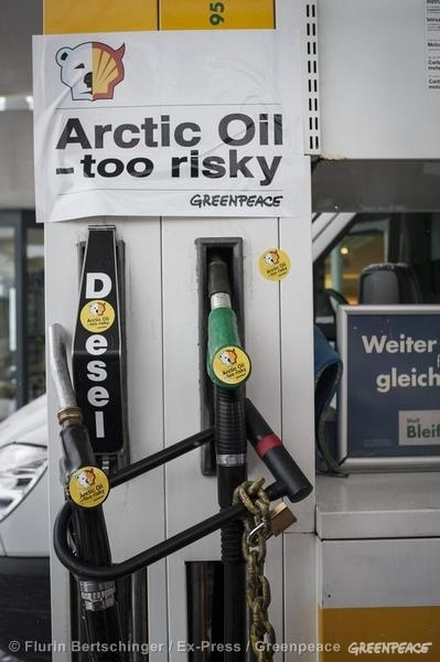 Shell Action, Davos