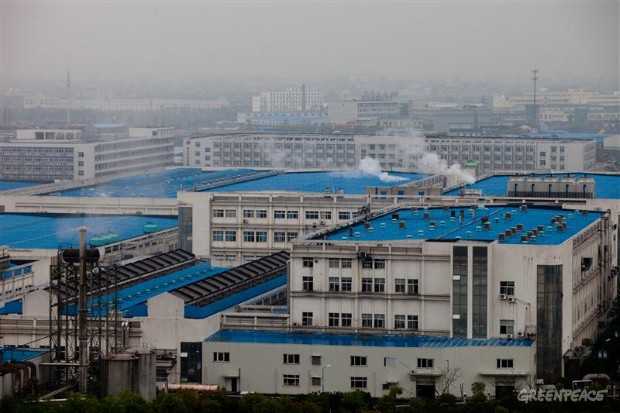 The Youngor Textiles Factory, Yinzhou District, Ningbo, China