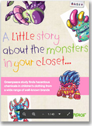 Little Monsters in your closet report