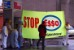 Greenpeace activists shut down the Esso stations