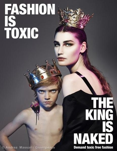 King and Queen Mother Demand Toxic-Free Fashion