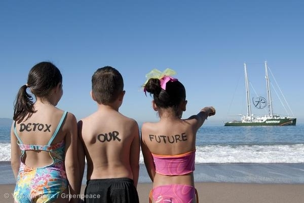 'Detox Our Future' Children Protest in Mexico