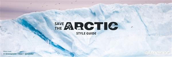 Save the Arctic Style Guide