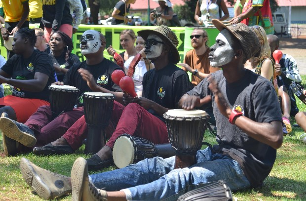 Drumming for Peace in Johannesburg
