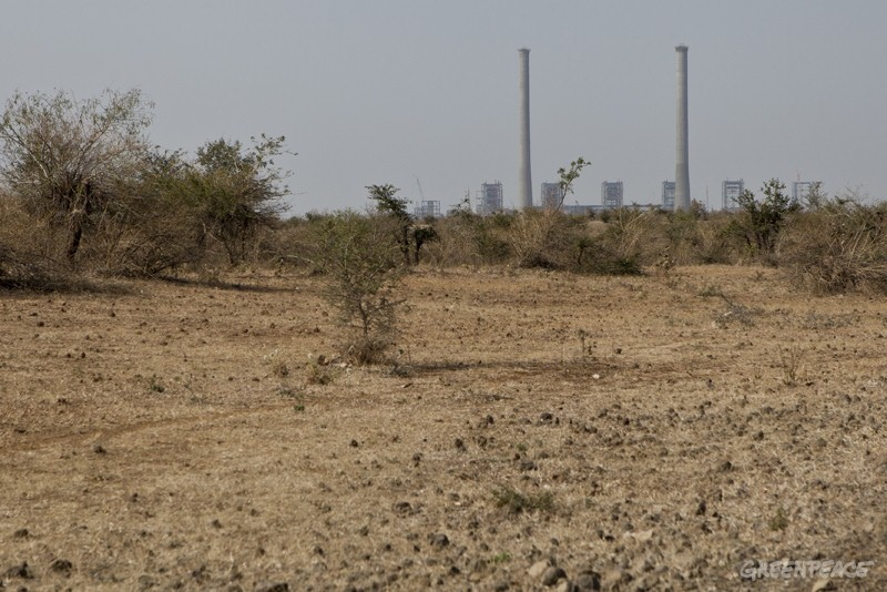 A thermal power plant built by Indiabulls Power Ltd. in Amravati Industrial Area, Nandgaonpeth, Amravati district, Maharashtra.  Indiabulls has been allocated 87.6 million cubic metres of water per year, which is the irrigation supply of 23,219 hectares of farmland. A group of farmers in Amravati fought the decision for 16 months.