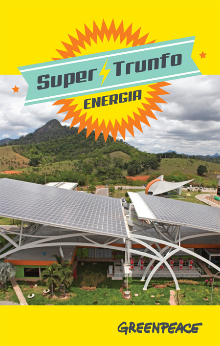 Super Trunfo - Energia - Greenpeace