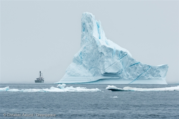 Ice scenics at Tasiilaq. 23 Aug, 2015 © Christian Åslund / Greenpeace