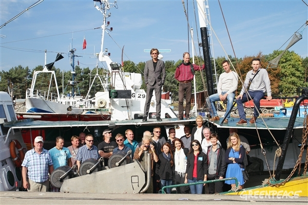 Baltic fishers at the LIFE workshop