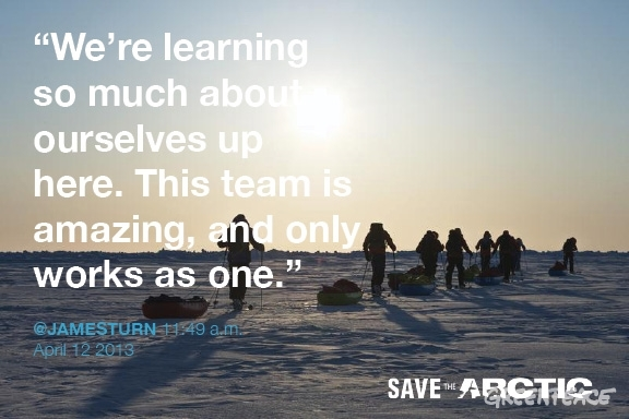 Arctic camp - greenpeace