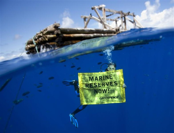 The solution: ban the FAD and Marine Reserves