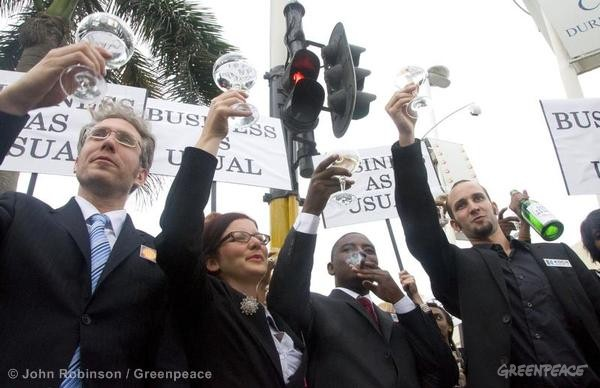 Polluters celebrate as COP17 talks stagnate