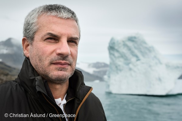 Daniel Rizzotti, from Argentina, Captain onboard the  Greenpeace ship Arctic Sunrise.