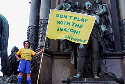 Banner: Don't play with the Amazon!