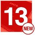 #13 hcl