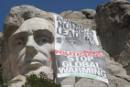 Message on Mt. Rushmore