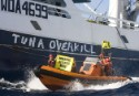 Greenpeace activists take action against