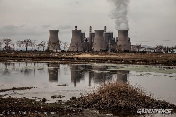 Afsin-Elbistan A and B Plants in Turkey. 03/01/2014 © Umut Vedat / Greenpeace