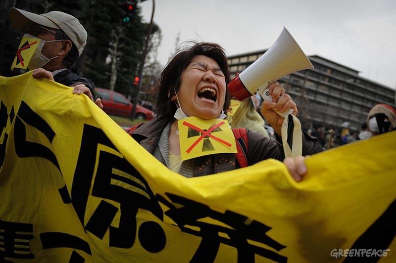 Fukushima protests