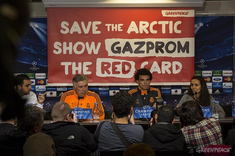 Red Card for Gazprom