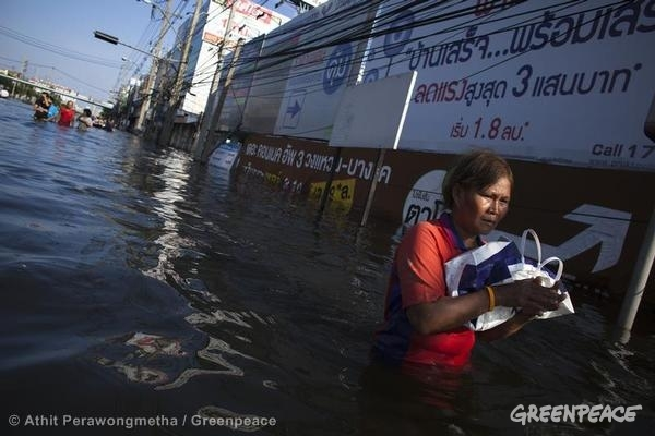Extreme weather: Flooding in Thailand