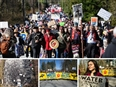 10,000 People stand strong to protect land and water from Kinder Morgan