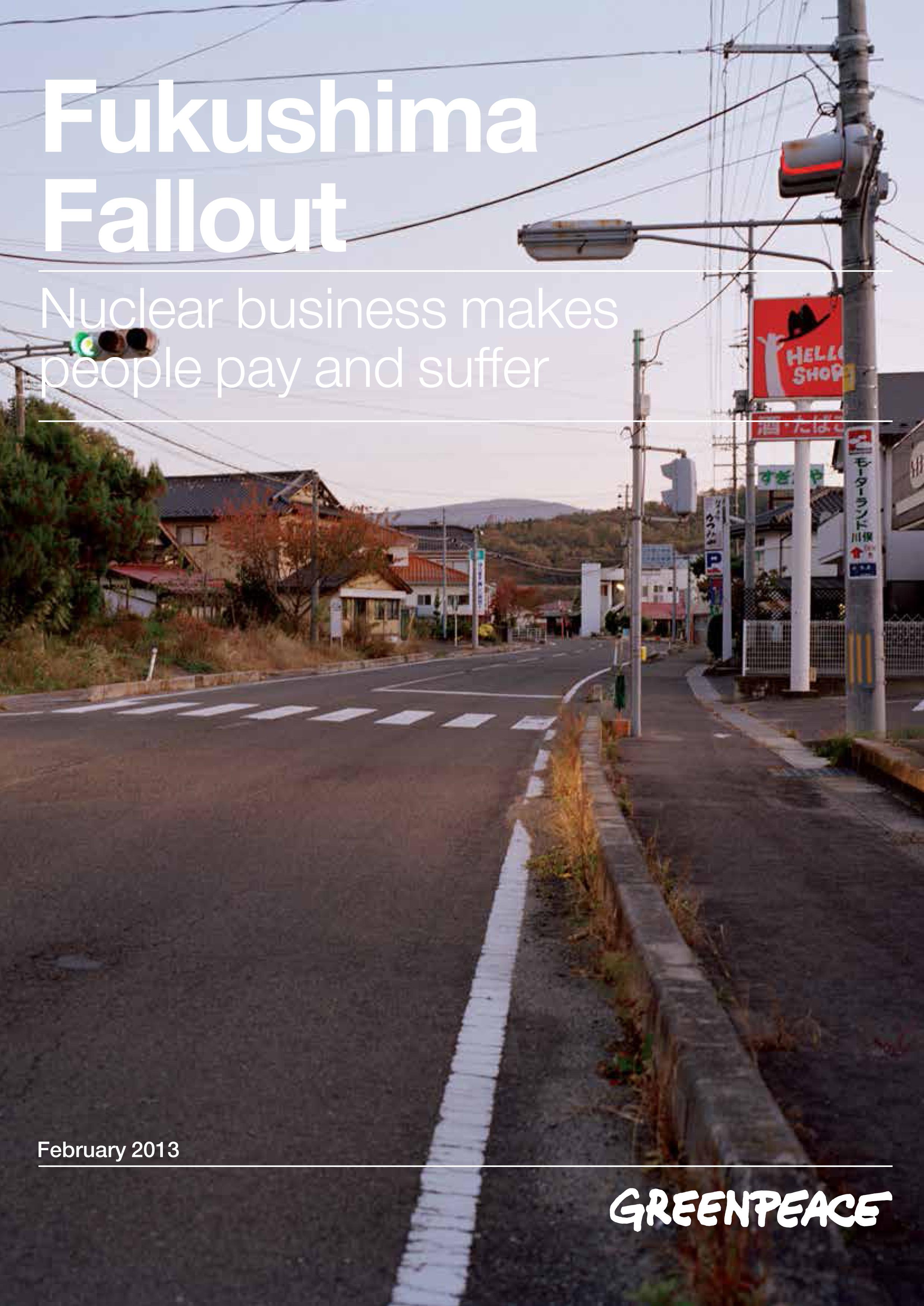 Raportti: Fukushima Fallout