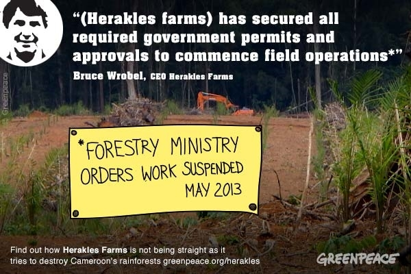 Misrepresentations of Herakles Palm Oil Project