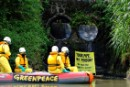 Greenpeace Water Patrol spotlights chemical discharge pipes along Marikina river