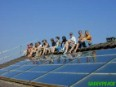 Members of the Solar generation project on