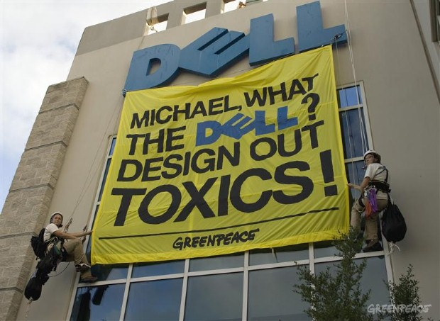Toxics Action at Dell HQ, Texas