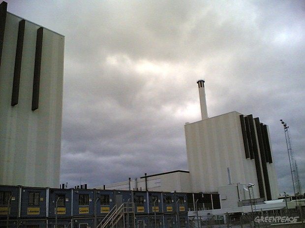 The Forsmark nuclear power plant. The plant suffered a serious safety incident and has been shut down for investigation.