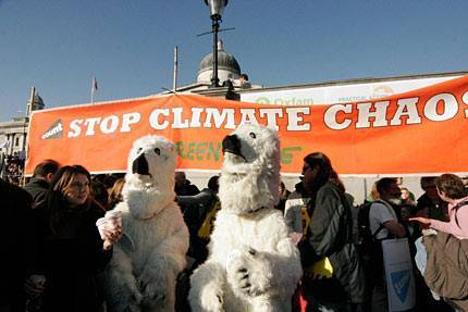 Greenpeace Polar Bears