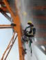 Cargill hoses Greenpeace activists with water