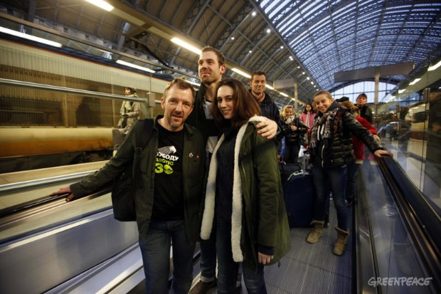 Arctic 30 Activists Arrive in the UK