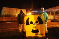 25th Chernobyl anniversary projection