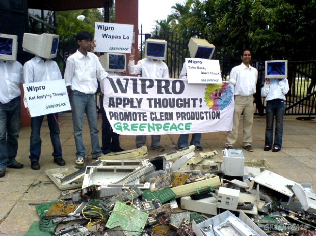 E-waste at the manufacturers gates!