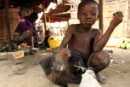 A child in the Village of Babogombe in Yoko
