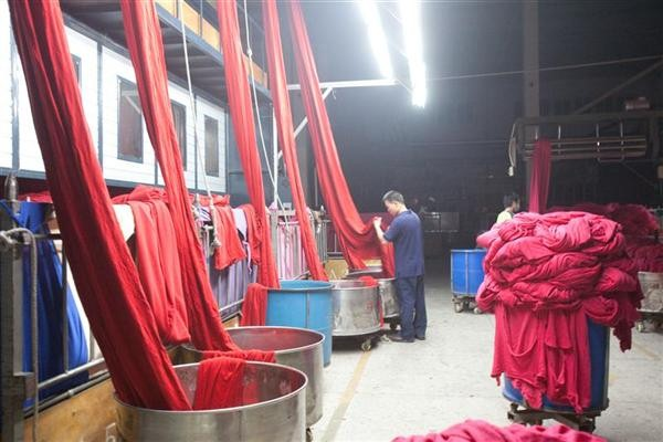 The Well Dyeing Factory Ltd in China