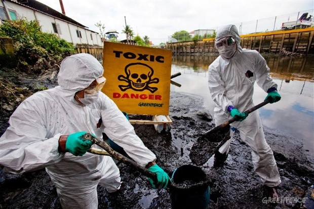 Demanding change in Thailand's toxic waters.