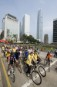 Over a hundred cyclers echo the World Carfree