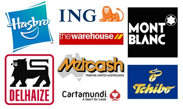 Logos of major companies who have recently cancelled contracts with APP