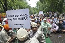 Thousands of citizens demand that the BRAI bill be withdrawn and India be GMO free