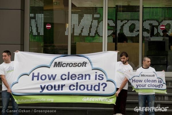 Action at Microsoft Offices in Turkey