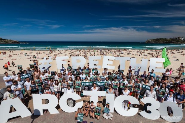 'Arctic 30' Global Day of Solidarity in Sydney.